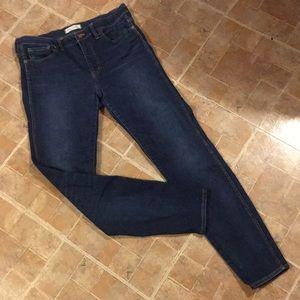 Madewell high riser skinny jeans size women's 31